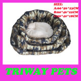 High Quaulity Cheap Snuggle Dog Cat Pet Beds (WY161074-5A/C)