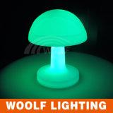 Plastic Mushroom Shape Color Changing LED Night Light