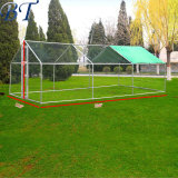Large Metal Chicken Coop Chicken Run Walk in Coop for Poultry Dog Rabbit Hen Cage Pen.