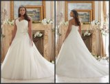 Sweetheart Bridal Gowns Custom Made Plus Size Wedding Dress Mrl3203