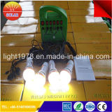 30W Portable Solar System with LED Bulb
