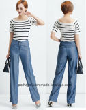 Attractive Ladies Palozzo Pants with Tencel Denim