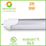 UL cUL 2FT 8FT Light T10 T8 LED Tube with High Lumen