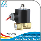 "1/2"" 3/4""Brass Wire Feeder Tube Welding Machine 42V 110V Air Electric Valve-Zcq-09b"