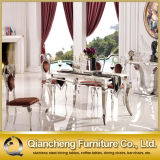 Simple Style Stainless Steel Dining Tables