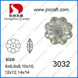 Faceted Sew on Flower Beads for Women Accessories (DZ-3032)