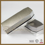 L140X15mm Diamond Abrasive Fickert for Stone Granite Marble Polishing (sy-df)