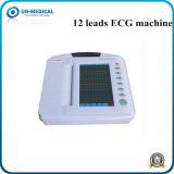 Touch Screen 12 Lead Portable ECG/EKG Electrocardiograph Machine