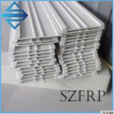 Customized Fiberglass Slotted Flat Bar Fiberglass/FRP Special Shaped Pultruded Profiles