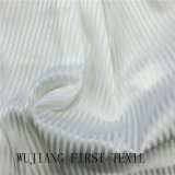 Silk Stretch Stripe 16m/M Solid Dyed Fabric