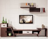 Red Oak Wood Veneer with MDF TV Stand&Cabinet (TV030)