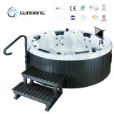 China Manufacturer Discount Round Outdoor SPA Jacuzzi for 6-Person