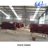 Veneer Wholesale High Gloss Velvet Coffin and Casket