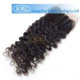 Three Way Part Brazilian Curly Lace Closure