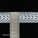 Chemical Polyester Lace Trim by The Yard with Hollow out Geometric Rhombus Design L054