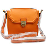 Beatiful Color and Hot Sell Genuine Leather Female Shoulder Bag
