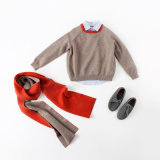 100% Wool Knitted Children Clothing for Winter