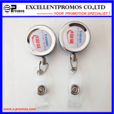 Wholesale Retractable ID Card Badge Reels with Epoxy Logo (EP-BH112-118)