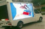 P8 Advertising LED Moving Display, LED Sign for Bus