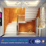Interior Home Lightweight Polyester Wall Acoustic Panel 3D