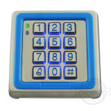 RFID Single Standalone Door Waterproof Metal Access Control System with Keypad Manufacturer