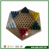 China Hot Selling Colorful Solid Wood Chess Set