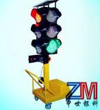 Lifting Adjustable Solar Movable Traffic Light / Solar Portable Traffic Light