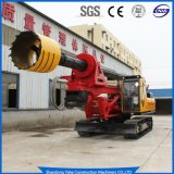 Small Crawler Hydraulic Rotary Drill/Drilling Rig for Foundation Engineering/Water Well/Mining Exploration Excavating/Geotachnial Construction Equipment Dr-120