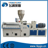 PVC Lab Plastic Conical Double Screw Twin Screw Extruder