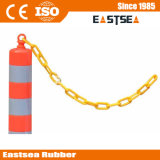 Plastic Traffic Flexible Post Chain Adaptor Road Security Product