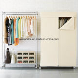 Modern DIY Double Color Wardrobe Design Furniture Bedroom