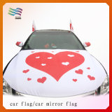 Custom Logo Car Hood Cover with Eco-Friendly Spandex Fabric