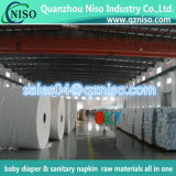 Manufacturer Tissue Paper Raw Material for Baby Diaper Nappy Sanitary Napkin