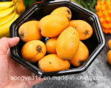 Disposable Unheated Black Octagonal Fruit and Vegetable Blister Box