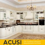 Wholesale Europe L Style Solid Wood Kitchen Cabinet Kitchen Furniture (ACS2-W06)