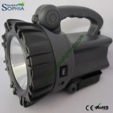 Rechargeable 10W CREE LED Torch and Flashlight with 5500mAh Swivel Stand