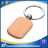 Elegant Round Wooden Keychain for Souvernir (Ele-K069)