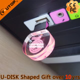 Round Crystal Gift USB Flash Memory (YT-3270-05)