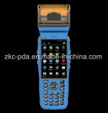Zkc PDA3502 Handheld Rugged PDA Barcode Scanner with Printer