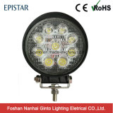E-MARK 27W Round Epistar 4inch LED Work Light for Trailer (GT2009-27W)
