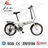 "36V 250W White 20"" Al Alloy Frame Foldable Electric Mini Bike (JSL039B-10)"
