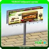 Q235 Steel Galvanize Plate Column Highway Billboard