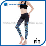 New Design Women Yoga Pants with Gradient Blue Butterfly