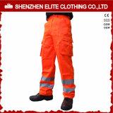 High Visibility Fluorescent Orange Work Pants Supplier