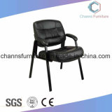 Comfortable Black Furniture Leather Office Leather Training Chair