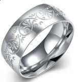Hotsale Europe Fashion Jewelry Wholesale 316L Stainless Steel Pattern Ring