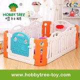 2017 Colorful Plastic Indoor Baby Playpen for Family (HBS17039A)