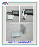 China Supplier Wholesale N35 Block Neodymium Magnet of Permanent NdFeB