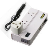 New Design DC12V to AC220V 200W Car Power Inverter Charger with 4 USB Ports LED Display