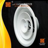 HVAC System Airvent Aluminum Round Air Diffuser with Plastic Damper